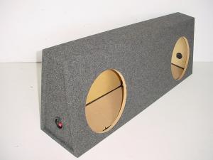 Custom Subwoofer Boxes - Toyota - Audio Dynamics - Audio Dynamics [TOY-410] 2011 and up Toyota Tundra Crew Max Sub Box 2X12