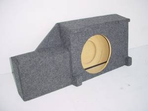 Custom Subwoofer Boxes - Nissan - Audio Dynamics - Audio Dynamics [1/2Nissandf] 2005-2012 Nissan Frontier Single Down Fire Sub Box