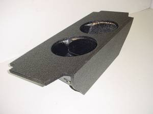 Custom Subwoofer Boxes - Nissan - Audio Dynamics - Audio Dynamics [niss370zpol] 2009 and up Nissan 370Z Pro-Poly Subwoofer Box