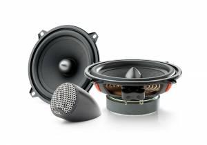 """Car Audio - Speakers - Focal Listen Beyond - Focal Listen Beyond ISU 200 2-Way 8"""" Shallow Mount Component Kit"""