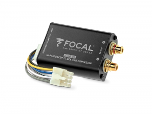 Car Audio - Accessories - Focal Listen Beyond - Focal Listen Beyond FPS Hilo V2 HIGH LEVEL TO RCA LINE STEREO CONVERTER